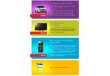 1 x autoturism Forf Focus Start Titanium, 8 x  televizor Led TV Samsung, 56 x smartphone Samsung I5800 Galaxy 3 black, 840 x cana ZUZU