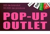 5 x voucher de 100 RON pentru cumparaturi de la Pop-Up Outlet