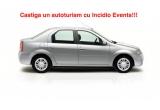 1 x 1000 euro, 1 x masina Dacia Logan