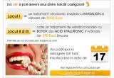 1 x tratament ortodontic invizibil cu Invisalign in valoare de 4300 euro, 2 x tratament estetic facial cu Botox sau acid hyaluronic in valoare de 350 euro