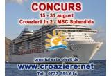 1 x croaziera in Marea Mediterana pe MSC Splendida