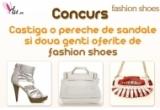 1 x pereche de sandale + doua genti de la Fashionshoes.ro