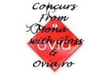 1 x voucher de 150 RON pentru cumparaturi pe Ovia.ro, 1 x de 100 RON pentru cumparaturi pe Ovia.ro