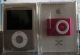 un Ipod Nano 4 Gb, un Ipod Shuffle 2 Gb