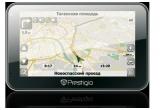 1 x GPS Prestigio 4500 BTFM GeoVision