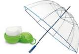 1 x set umbrela si pelerina de ploaie