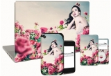 1 x iPod, 1 x skin-uri pentru telefoane, laptop-uri, iPad-uri