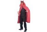 1 x pelerina Halloween Diavol, 1 x schelet fosforescent, 1 x cornite Drac din PVC rosu cu blanita neagra