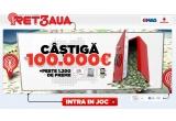 1 x 100.000 euro, 12 x iPad 2 Apple 16 GB, 12 x  telefon Vodafone 555, 420 x cartela prepaid Vodafone, 840 x card cadou de 50 RON pentru cumparaturi pe emag.ro