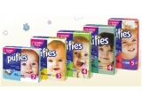 8 x set Pufies pentru ingrijirea bebelusului tau(1 pachet de scutece Pufies Jumbo Pack + 1 pachet servetele umede Pufies + o paturica Pufies)