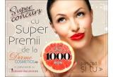 5 x voucher de 200 RON de la Dermocosmetice Online
