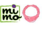 10 x colier esarfa roz caprifoi de la Mimostore.ro