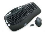1 x kit Logitech Cordless Desktop Wave Pro(Kit Tastatura + Mouse Logitech Cordless Desktop Wave Pro)