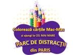 "1 x excursie la cel mai mare Parc de Distractii din Paris, 10 x carte ""Tichia fermecata"""