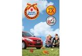 1 x autoturism Suzuki Swift, 10 x plin de carburant /zi, dublu de puncte MutiBonus pentru toti participantii