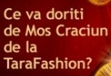 "3 x voucher de cumparaturi pe <a href=""http://www.tarafashion.ro"" target=""_blank"" rel=""nofollow"">TaraFashion.ro</a>in valoare de cate 200 RON"