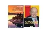 """1 x cartea """"Castigatorii"""" de Jack Welch, 1 x audio-book-ul """"Puterea Emotiilor"""" de Adrian Popescu"""