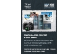 1 x aparat foto Nikon Coolpix L120, 20 x kit de ingrijire Dove Man + Care