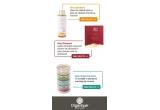 3 x produse cosmetice organice Organique de 150 RON
