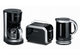1 x set pentru micul dejun (cafetiera + toaster + ceainic), 1 x sansa de a gati in fata publicului reteta ta preferata