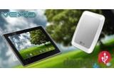1 x tableta Asus Transformer, 1 x HDD extern LG XD2 de 500 GB