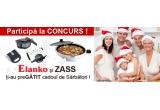 1 x Aparat de gatit multifunctional electric Zass ZMFC01, 1 x Gratar electric Zass T03-2, 1 x Tigaie electrica pentru pregatiti pizza Zass ZPP01, 3 x Sandwich maker Zass ZSM 06