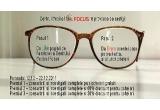 1 x consultatii si investigatii complete plus ochelari gratuiti, 1 x consultatii si investigatii complete si 60% discount pentru ochelari, 1 x consultatii si investigatii complete si 30% discount pentru ochelari