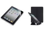1 x carcasa din piele Belkin TriFolf Folio Stand + ecran protector mat pentru display-ul iPad-ului