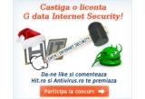 5 x licenta antivirus G Data Internet Security 2012, 10% discount pentru orice achizitie online de pe Antivirusmag.ro (pana la sfarsitul lunii ianuarie 2012) tuturor participantilor la concurs