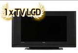 1 x TV LCD, 1 x DVD player, 50 mingi de fotbal Gazeta Sporturilor