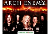 2 x invitație dubla la concertul Arch Enemy