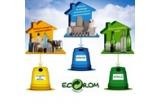 4 x premiu constand in produse realizate din materiale reciclate oferite de Eco-Rom Ambalaje