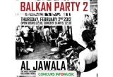 4 x invitație dubla la concertul Äl Jawala – Balkan Party 2