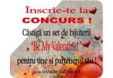 """1 x set de bijuterii """"Be My Valentine!"""" de la Handmade Bijoux"""