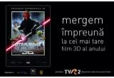 "1 x invitatie la o filmul ""STAR WARS: EPISODUL I : AMENINTAREA FANTOMEI 3D"""