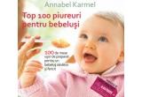 """3 x cartea """"Top 100 piureuri pentru bebelusi. 100 de mese usor de preparat pentru un bebelus mancacios"""""""