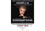 2 x invitatie dubla la concertul extraordinar ALESSANDRO SAFINA
