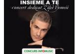 1 x invitație dubla la concertul Alessandro Safina