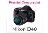 """aparat foto Nikon 40D<br type=""""_moz"""" />"""