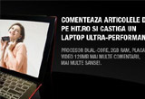 un laptop ultra-performant: procesor dual-core, 2GB RAM, placa video 128MB.