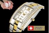 """1 x ceas """"Bellux Louis"""" placat cu aur galben"""