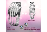 1 x ceas Calvin Klein Fly, 1 x ceas Guess Twisted, 1 x pereche de cercei cu pietre semipretioase