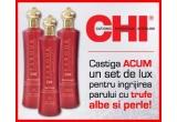 1 x set de produse de lux pentru ingrijirea parului CHI