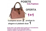 1 x geanta din piele naturala de la Cris Fashion