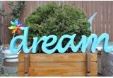 1 x Dream frumos de la DecoLetters