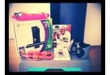 """1 x consola Xbox Kinect 360 + saltea exercitii Domyos + step 160 Domyos + DVD Dance Cardio Workouts Tracy Anderson + cartea """"Mancaruri rapide cu grasimi putine"""" + pantaloni scurti Divided by H&M + saculeti cu greutati pentru maini si picioare Domyos + coarda pentru sarit"""