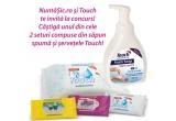 2 x set Touch format din sapun spuma si servetele