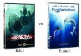 """1 x DVD cu filmul """"Shark Night"""", 1 x DVD cu filmul """"Dolphin Tale"""""""