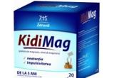 10 x premiu oferit de Kidimag sub forma unicului supliment alimentar cu magneziu destinat copiilor mai mari de trei ani