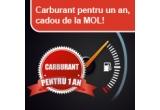3 x card de carburant cu valoarea individuala de 6000 RON, 450 x card de carburant MOL Silver cu valoarea 250 RON, 450 x card de carburant MOL Gold cu valoarea 400 RON